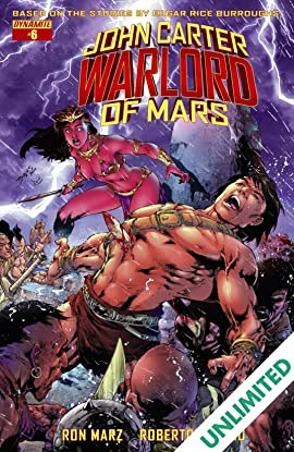 John Carter: Warlord of Mars #6: Digital Exclusive Edition