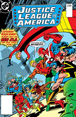Justice League of America (1960-1987) #238
