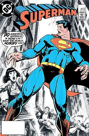 Superman (1939-2011) #413