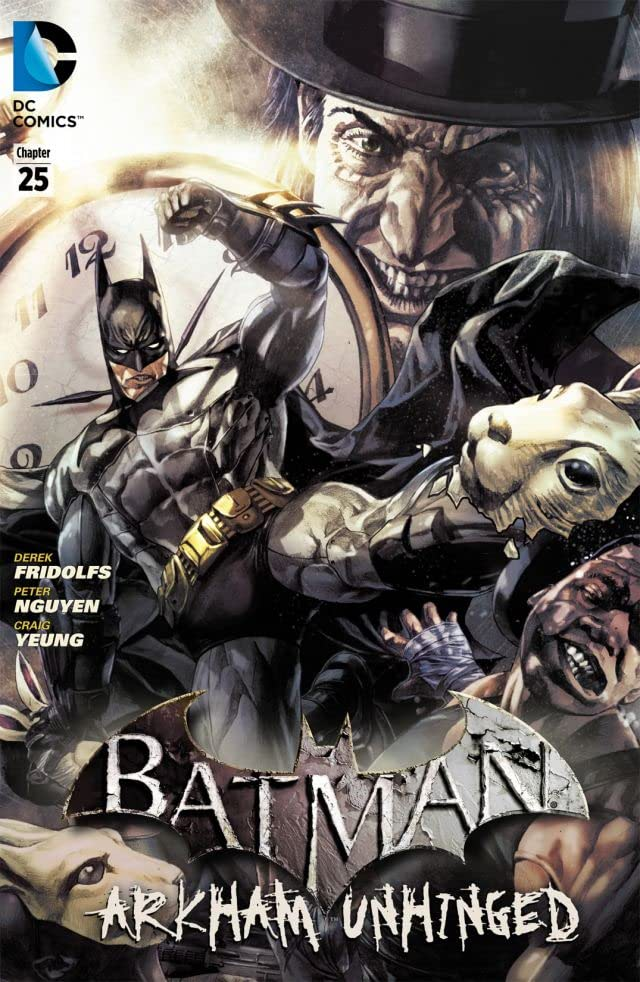Batman: Arkham Unhinged #25