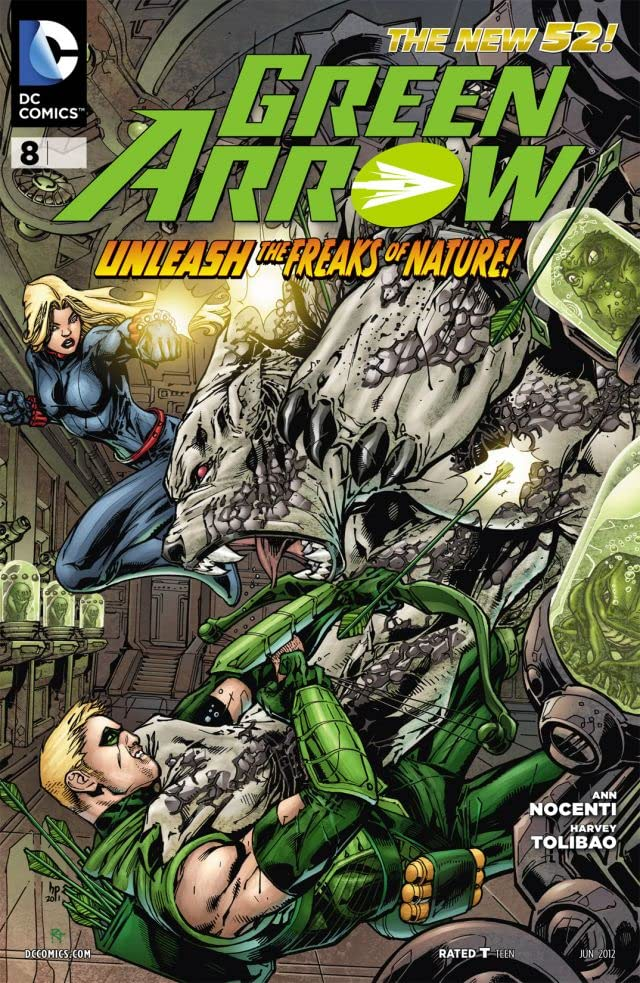 Green Arrow (2011-2016) #8