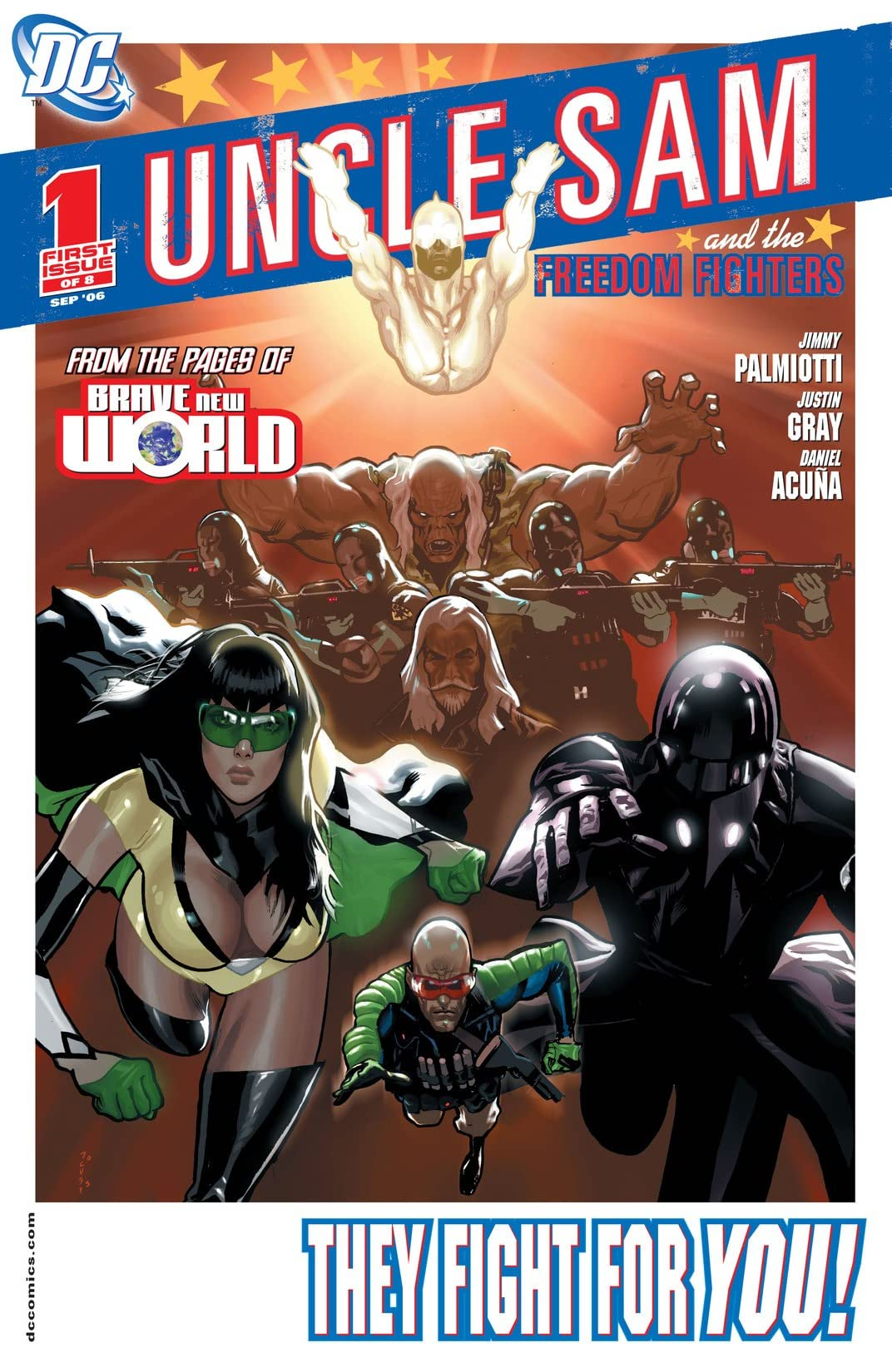 Uncle Sam and the Freedom Fighters (2006-2007) #1