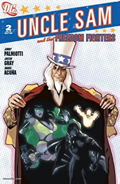 Uncle Sam and the Freedom Fighters (2006-2007) #2