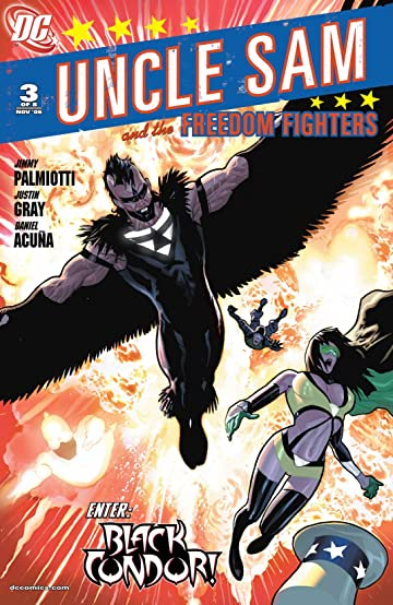 Uncle Sam and the Freedom Fighters (2006-2007) #3