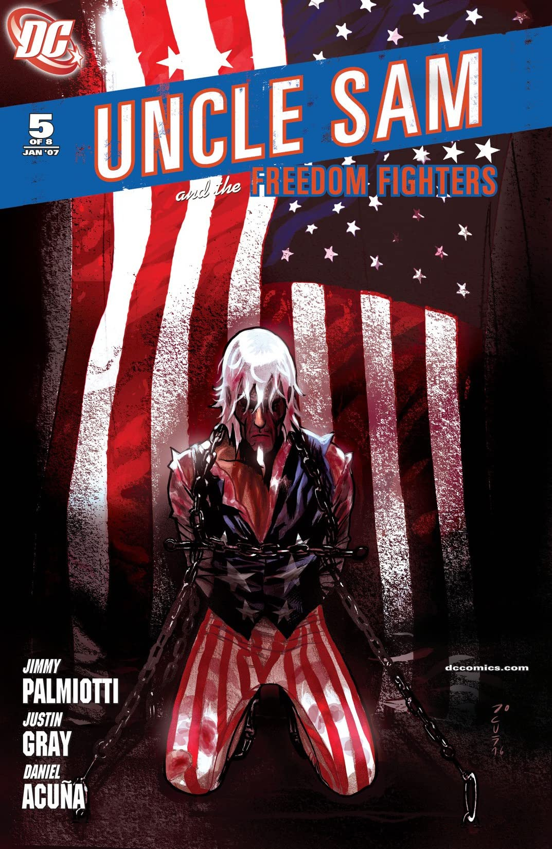 Uncle Sam and the Freedom Fighters (2006-2007) #5