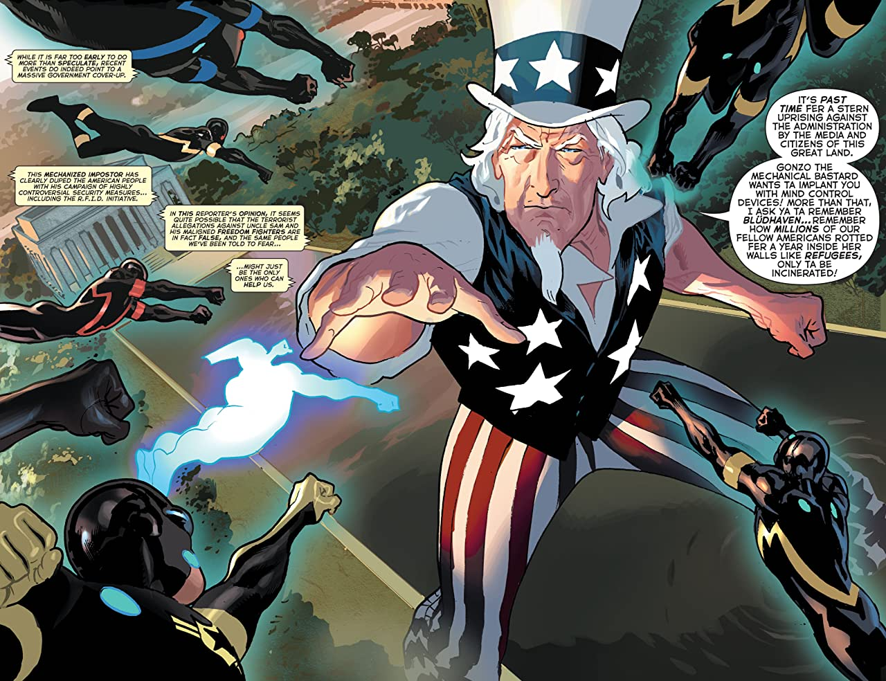 Uncle Sam and the Freedom Fighters (2006-2007) #8