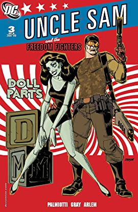 Uncle Sam and the Freedom Fighters (2007-2008) #3