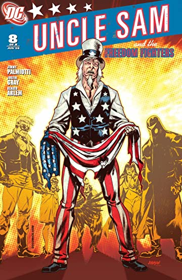Uncle Sam and the Freedom Fighters (2007-2008) #8