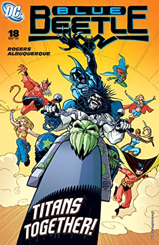 Blue Beetle (2006-2009) #18