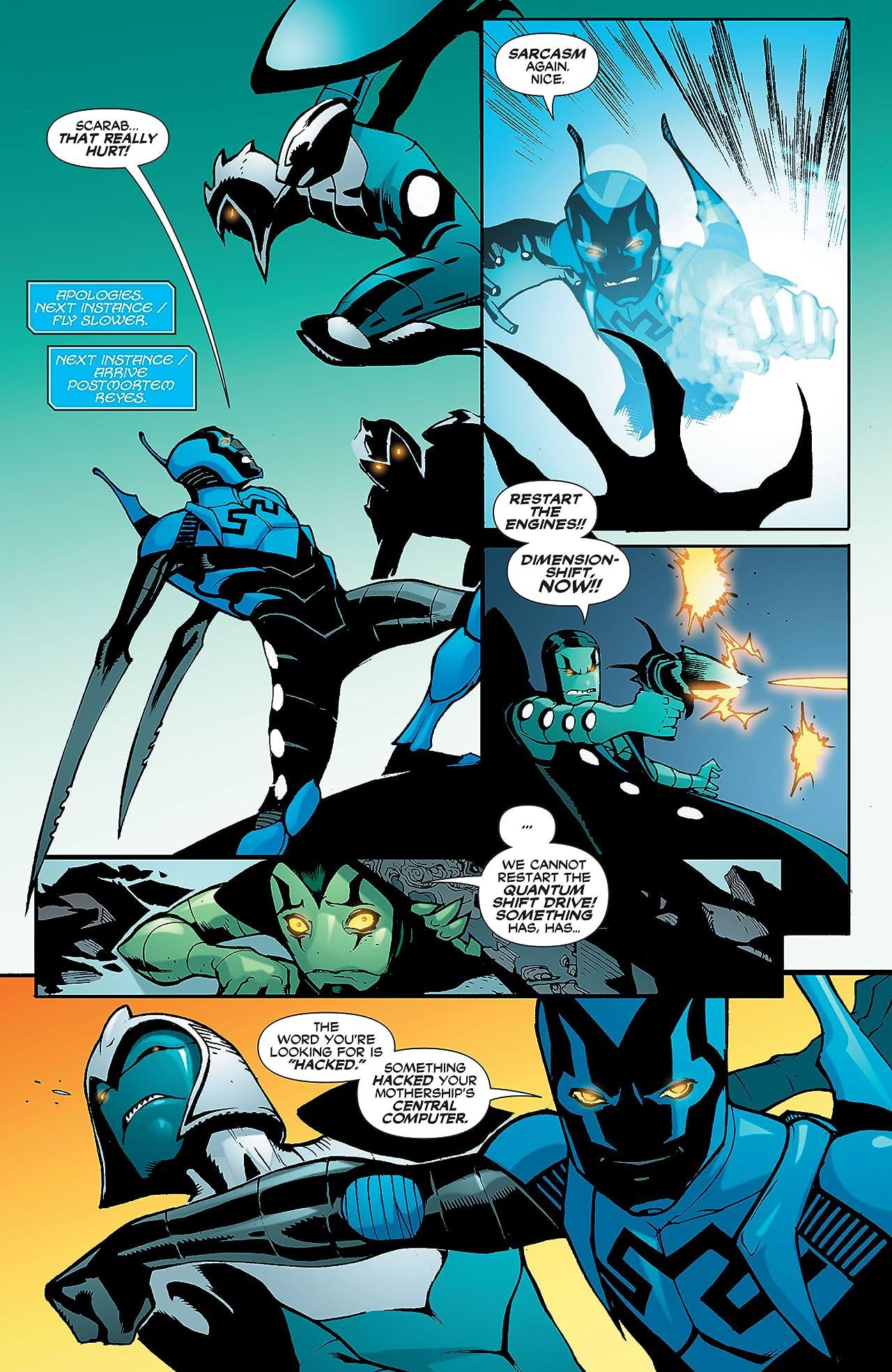 Blue Beetle (2006-2009) #25