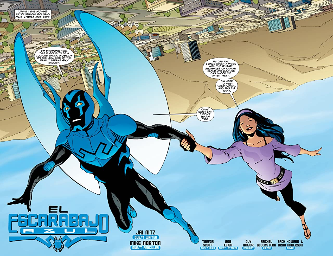 Blue Beetle (2006-2009) #26