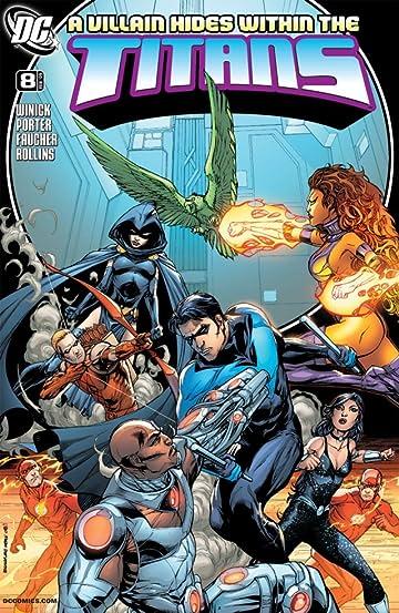 Titans (2008-2011) #8