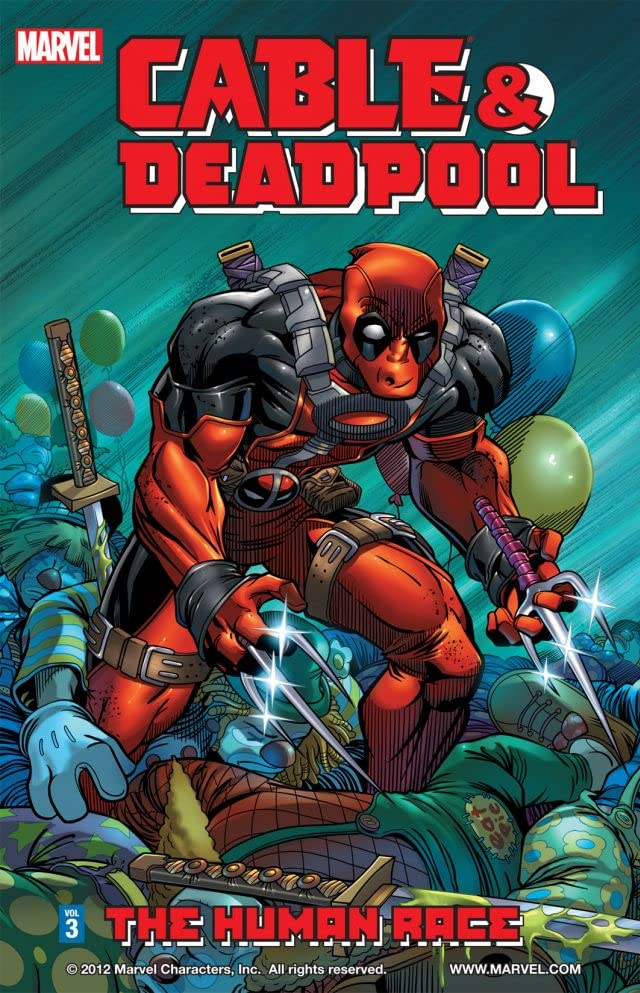 Cable & Deadpool Tome 3: The Human Race
