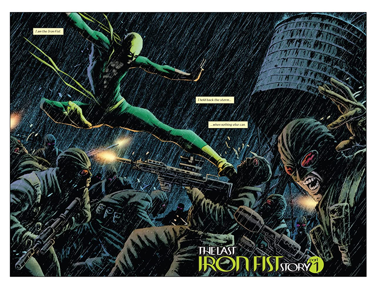 Immortal Iron Fist Tome 1: The Last Iron Fist Story