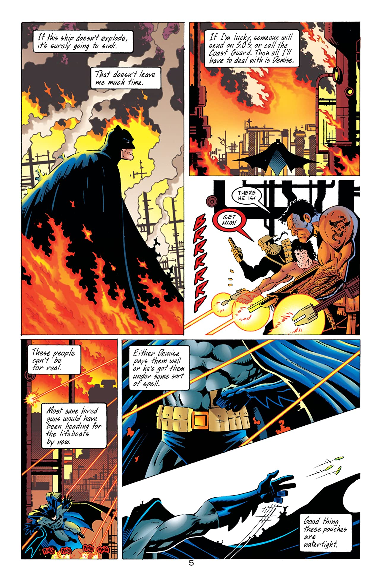 Batman: Legends of the Dark Knight #113