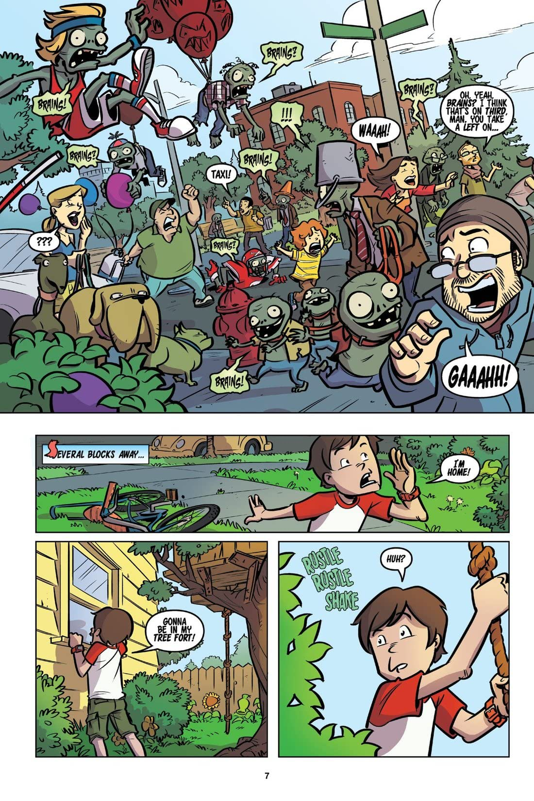 Plants vs. Zombies Vol. 1: Lawnmageddon