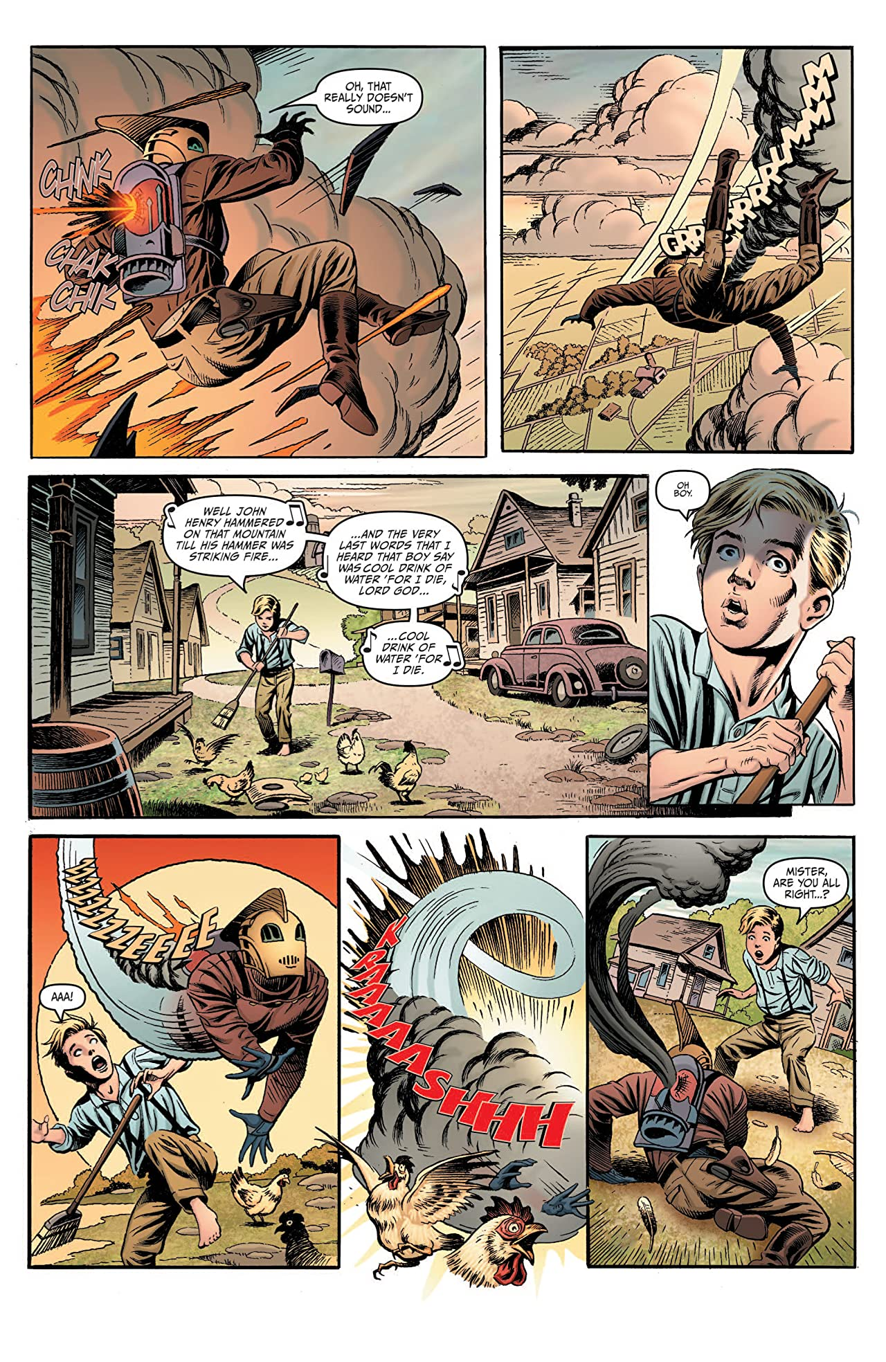 Rocketeer Adventures 2 #1 (of 4)
