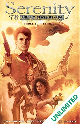 Serenity Vol. 1: Those Left Behind