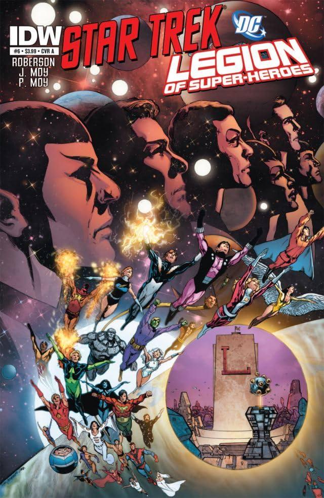 Star Trek/Legion of Super-Heroes #6