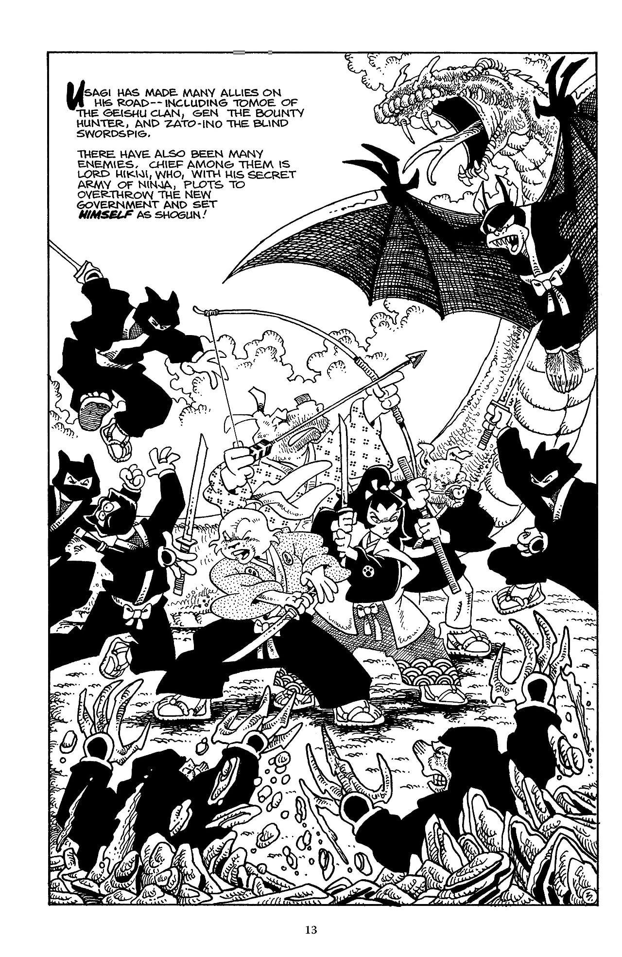 Usagi Yojimbo Saga Tome 1