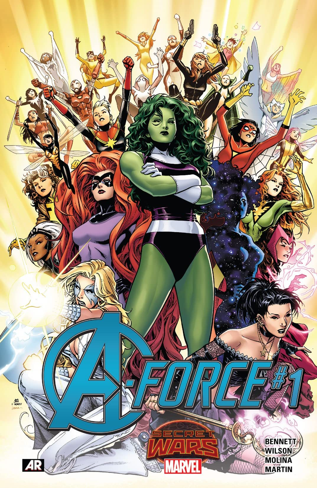 A-Force (2015) #1