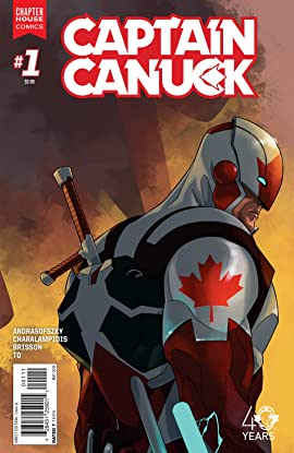 Captain Canuck (2015-) #1