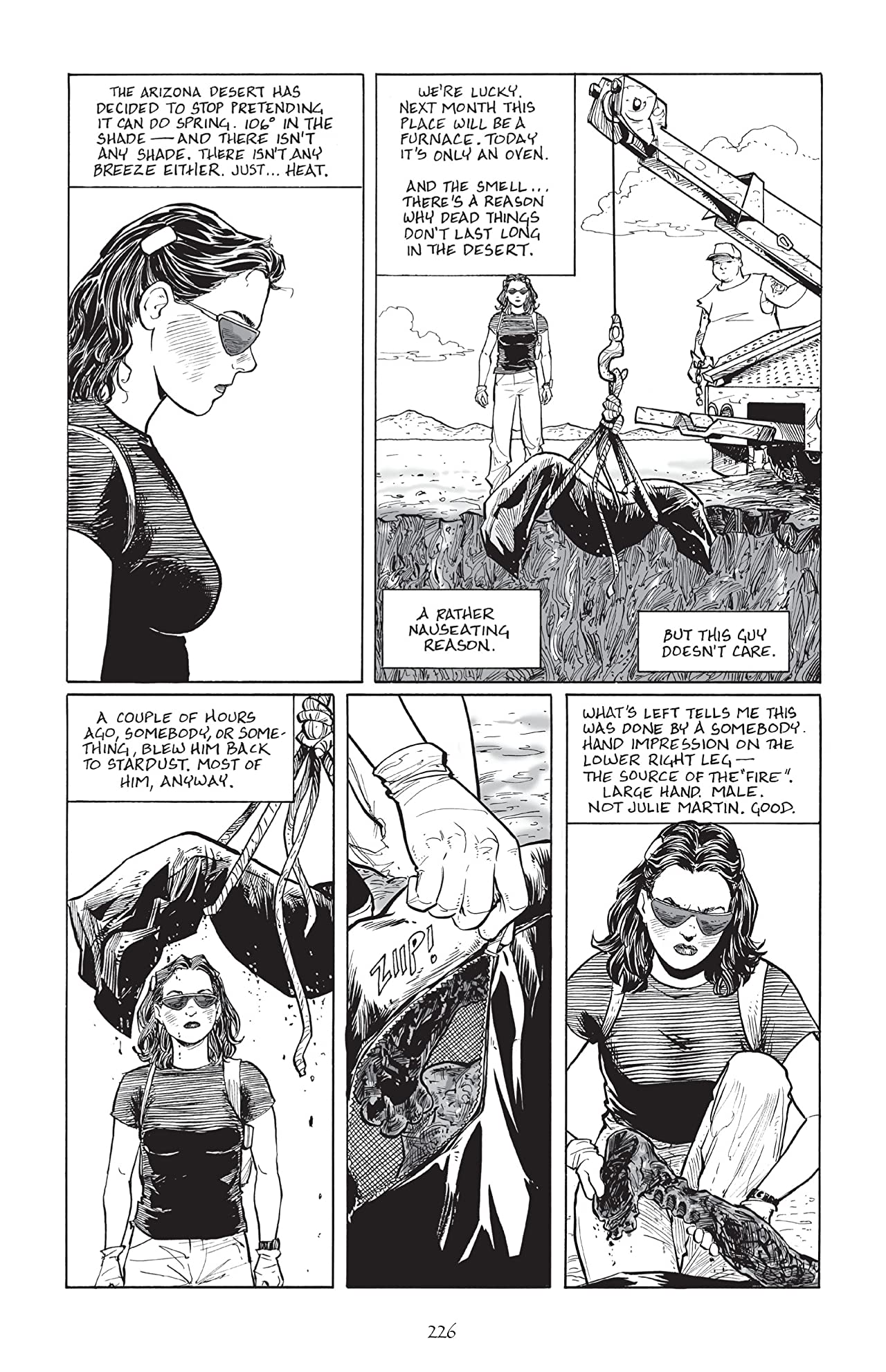 Terry Moore's Echo No.12