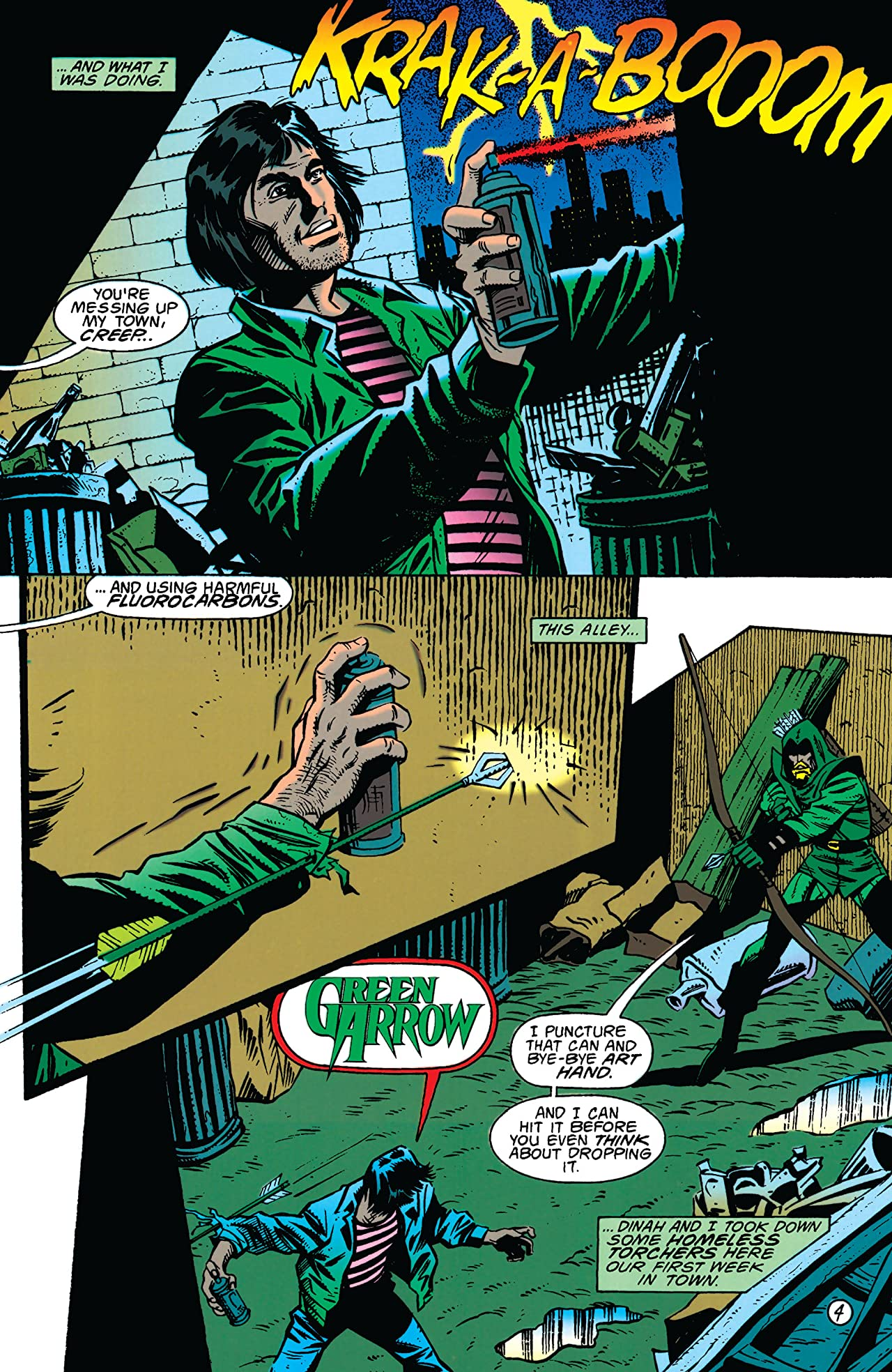 Green Arrow (1988-1998) #81