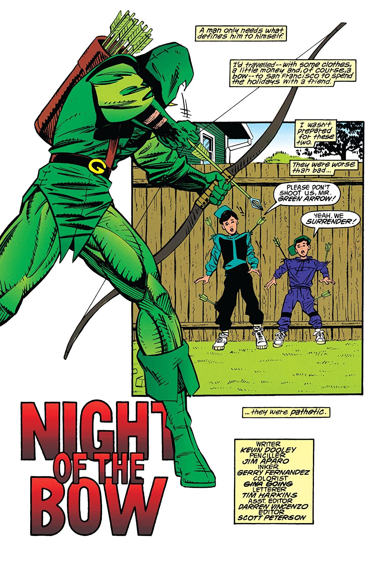 Green Arrow (1988-1998) #82
