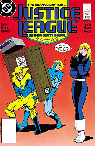 Justice League International (1987-1989) No.8