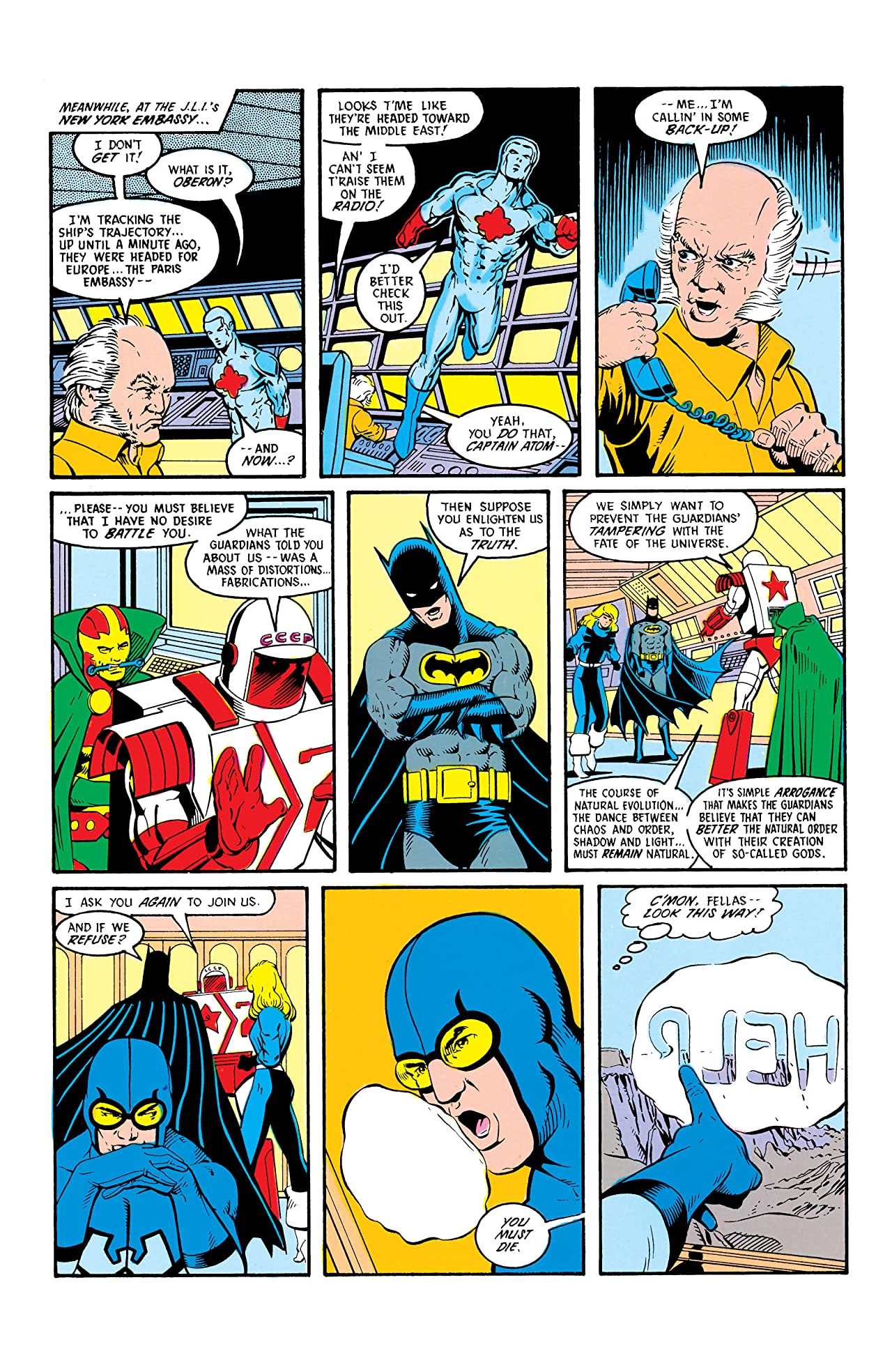 Justice League International (1987-1989) #9