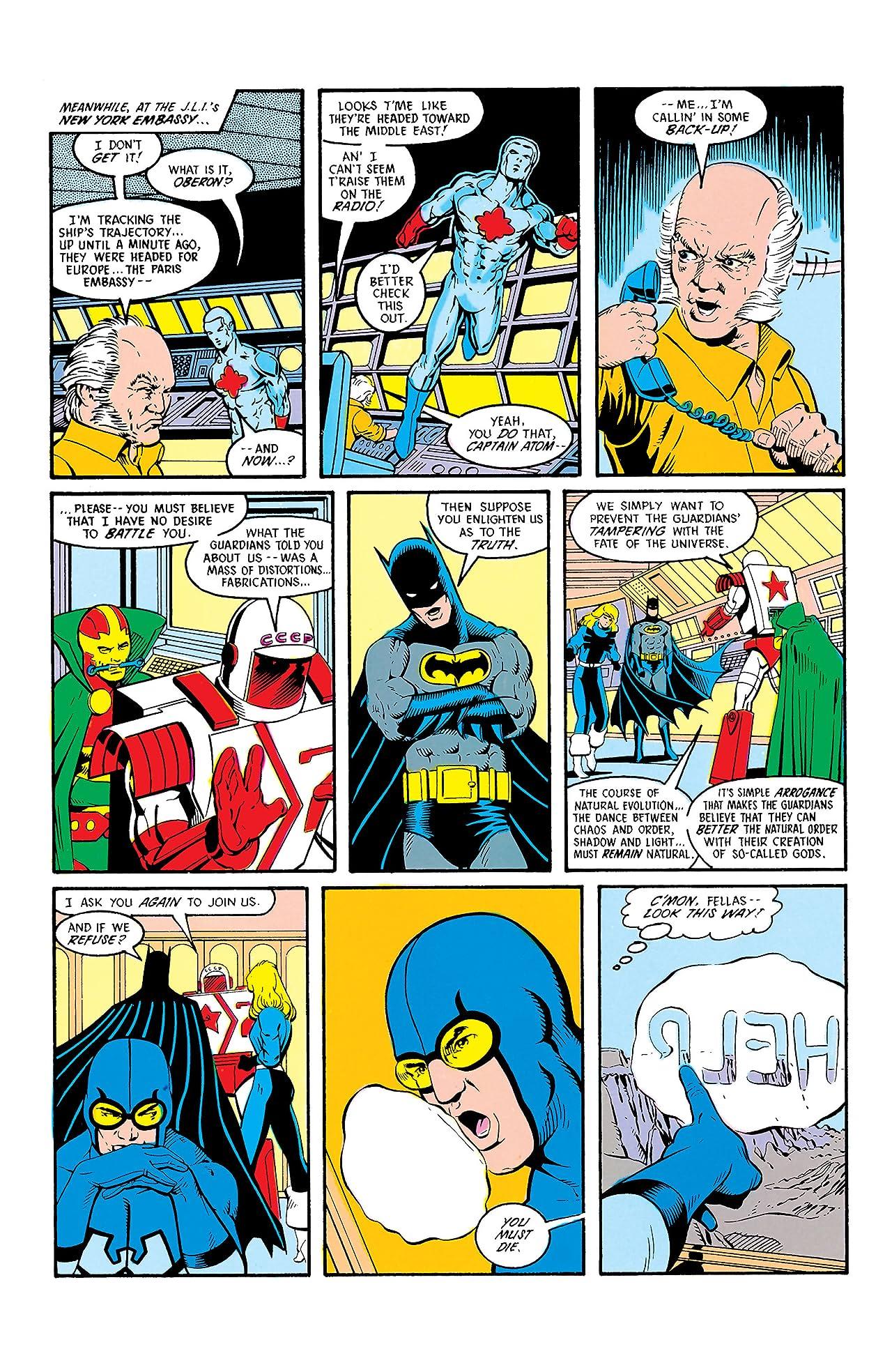 Justice League International (1987-1989) #9