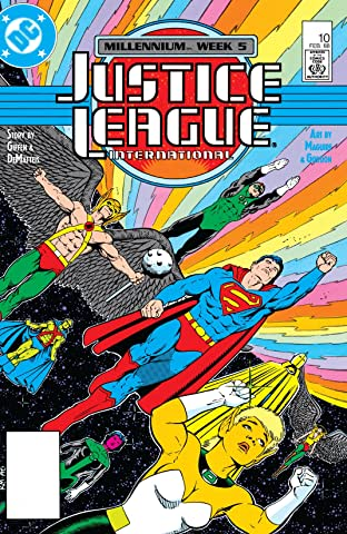 Justice League International (1987-1989) No.10