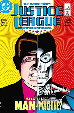 Justice League International (1987-1989) No.12