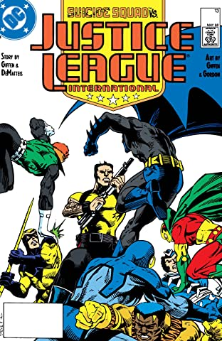 Justice League International (1987-1989) No.13