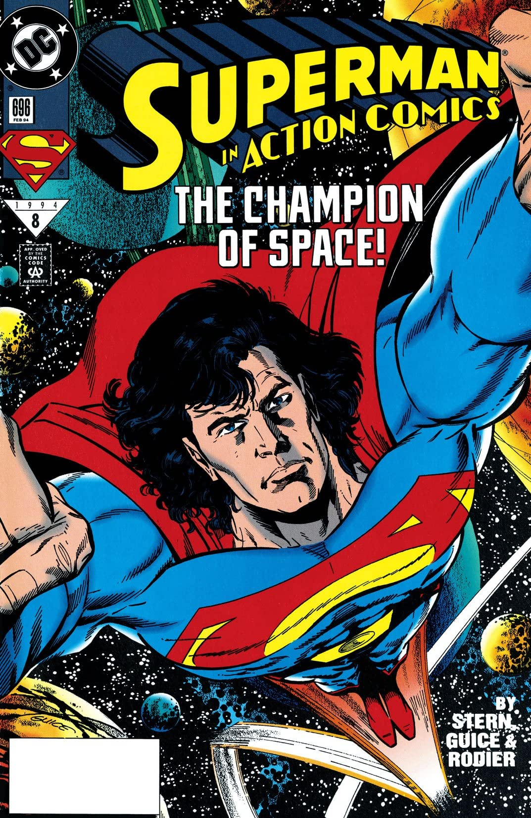 Action Comics (1938-2011) #696