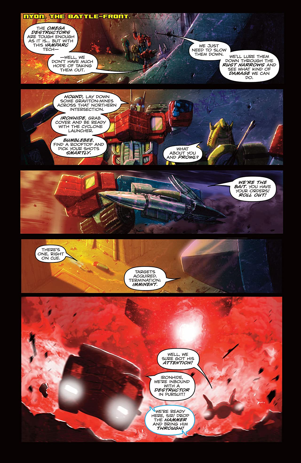 Transformers: Autocracy #6