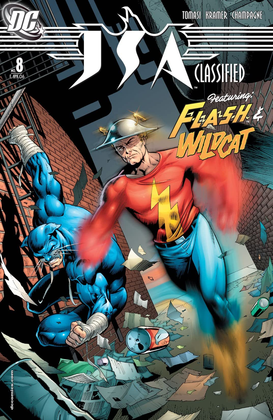JSA: Classified #8