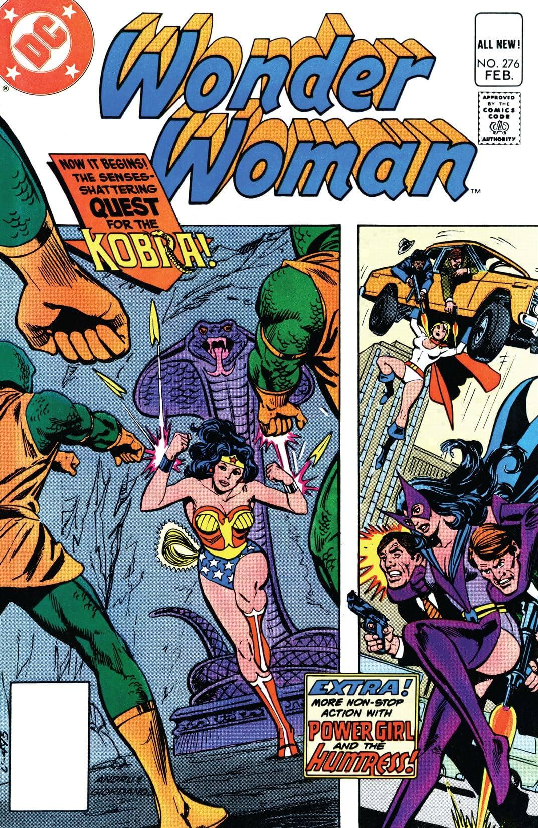 Wonder Woman (1942-1986) #276