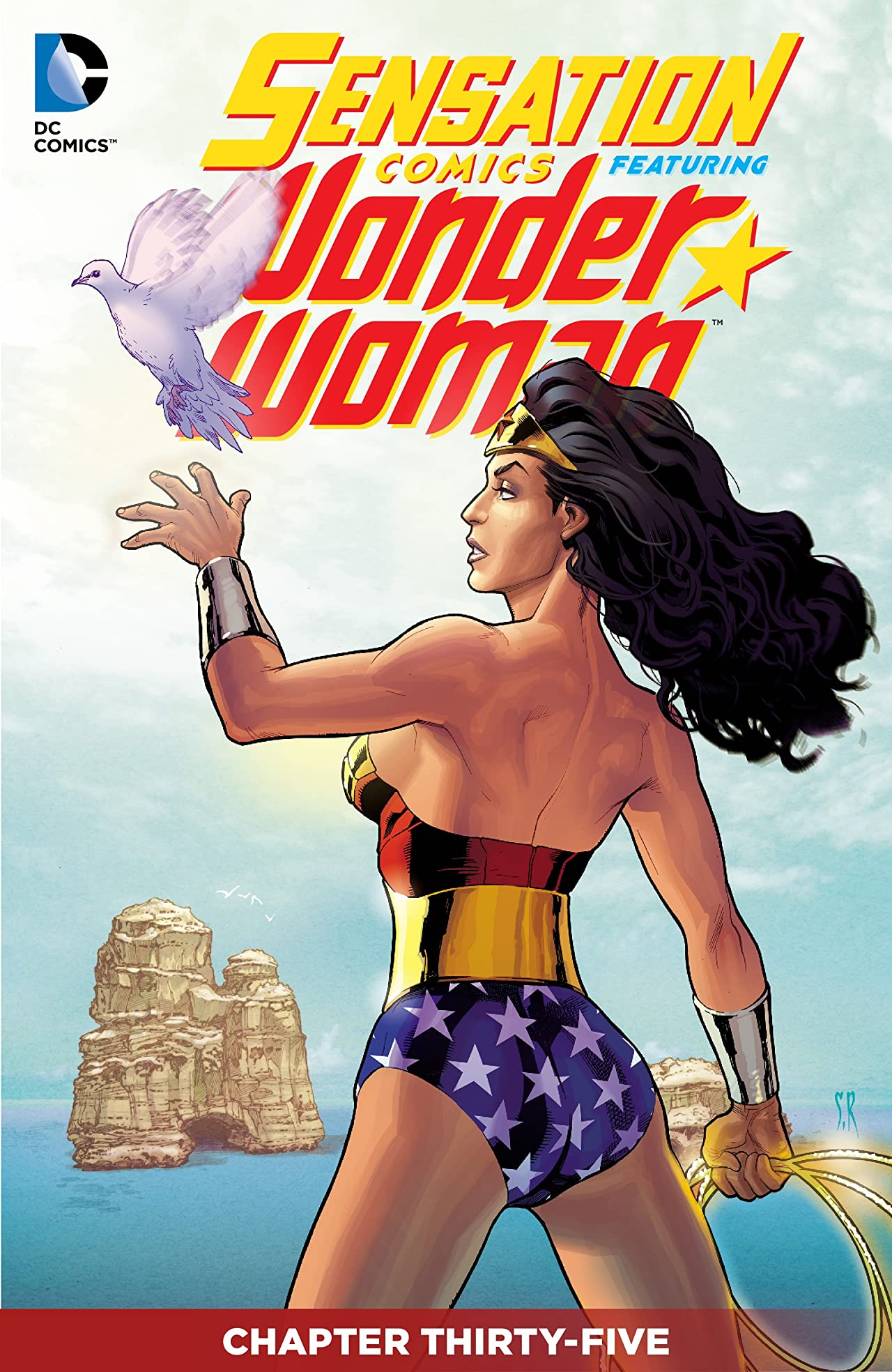 Sensation Comics Featuring Wonder Woman (2014-2015) #35