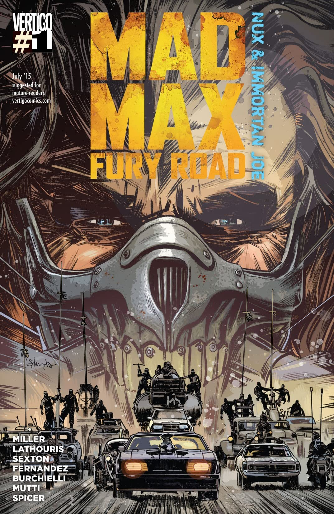Mad Max: Fury Road: Nux & Immortan Joe (2015) #1