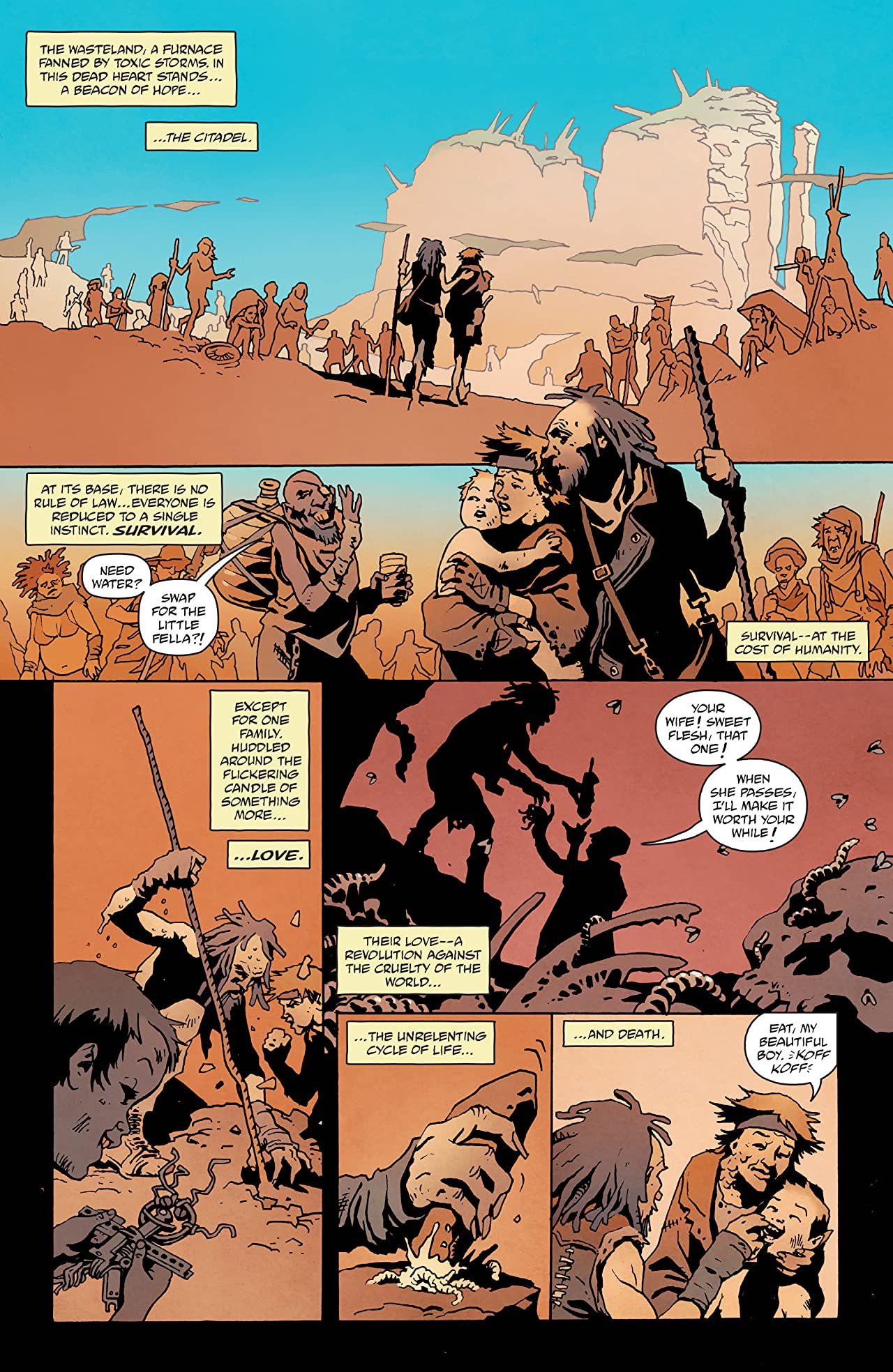 Mad Max: Fury Road: Nux & Immortan Joe (2015) #1