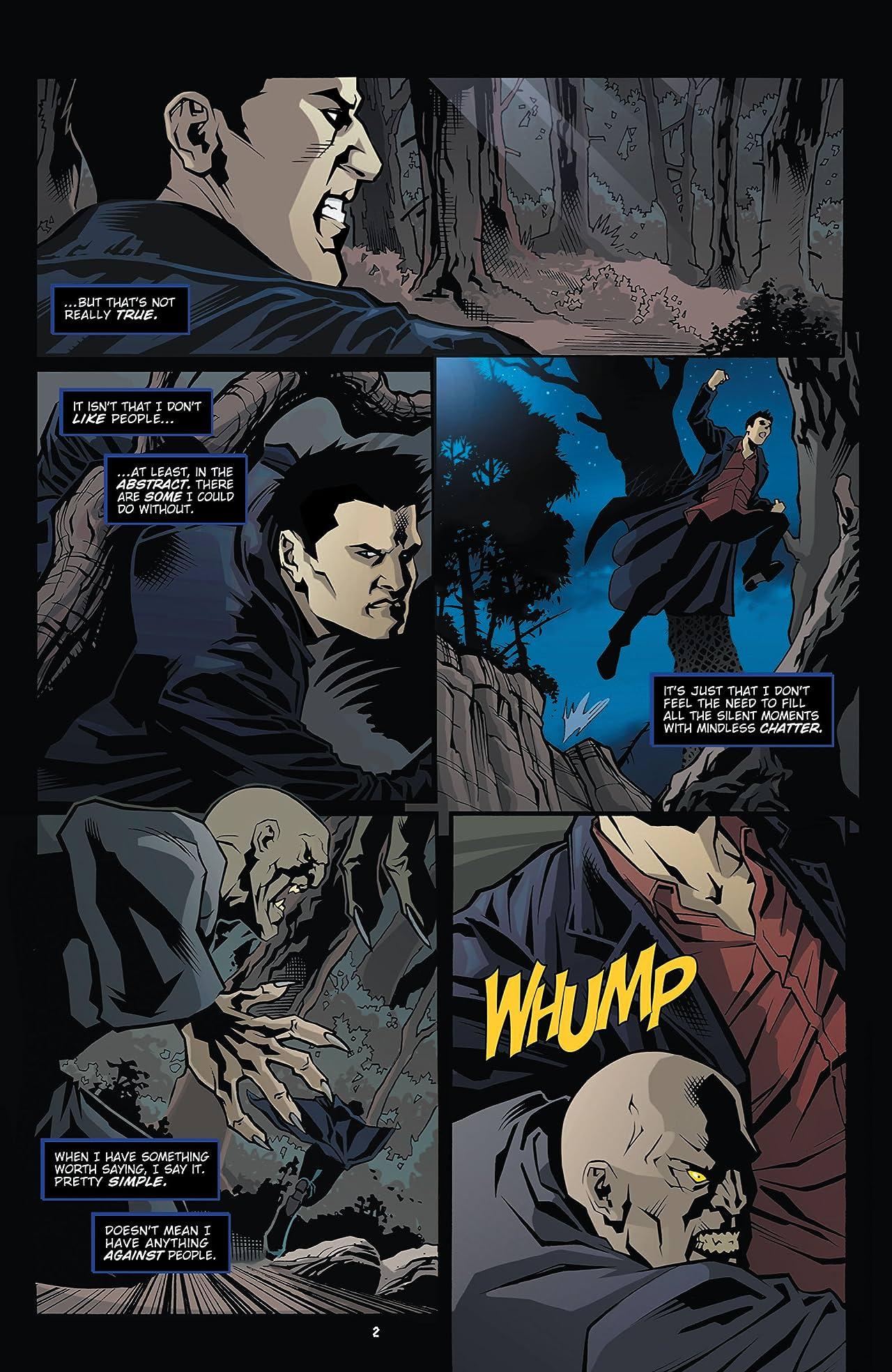 Angel: The Curse #1