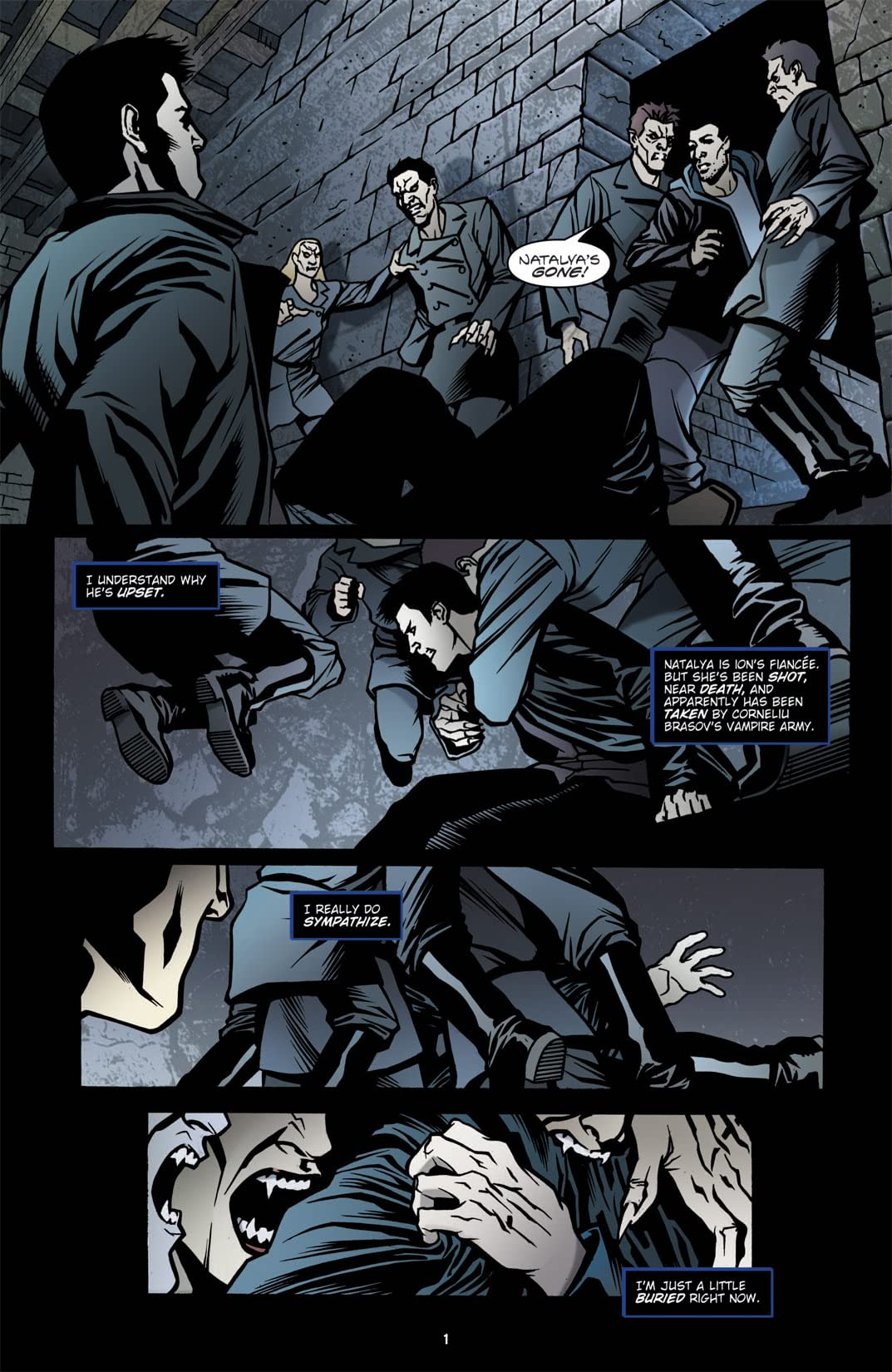 Angel: The Curse #5