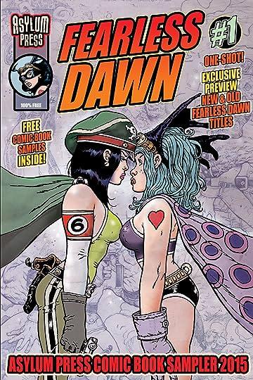 Fearless Dawn: Asylum Press Free Comic Book Sampler 2015