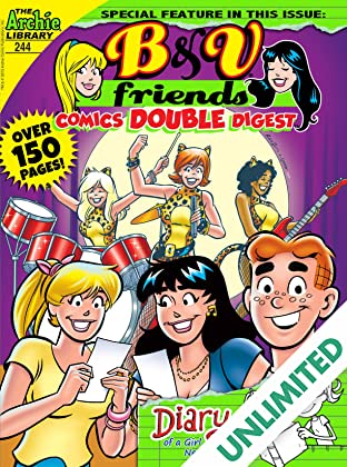 B & V Friends Comics Double Digest #244