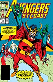 Avengers West Coast (1985-1994) #52