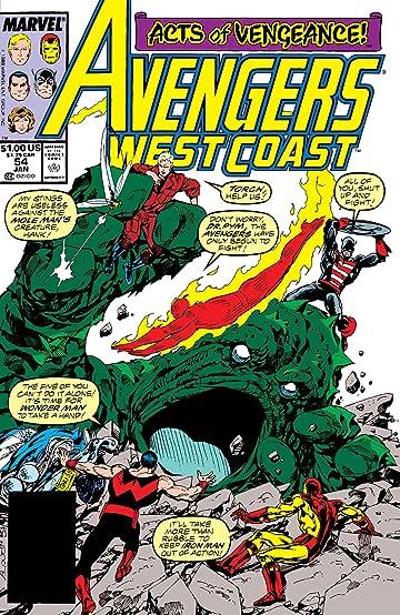 Avengers West Coast (1985-1994) #54