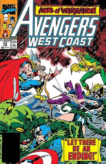 Avengers West Coast (1985-1994) #55