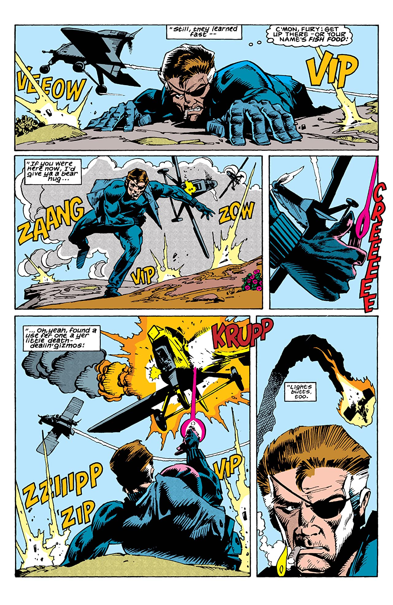 Nick Fury, Agent of S.H.I.E.L.D. (1989-1992) #11